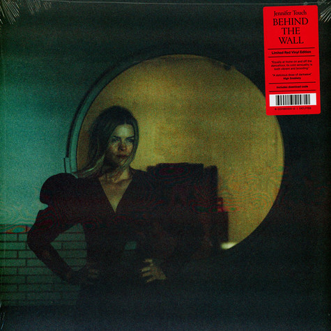 Jennifer Touch - Behind The Wall Red Vinyl Edition