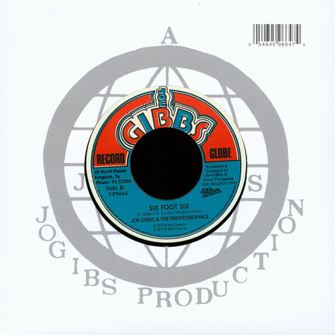Prince Allah / Joe Gibbs & The Professionals - Naw Go A Them Burial / Six Foot Six