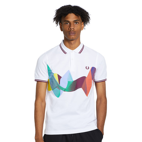 Fred Perry - Abstract Sport Polo Shirt
