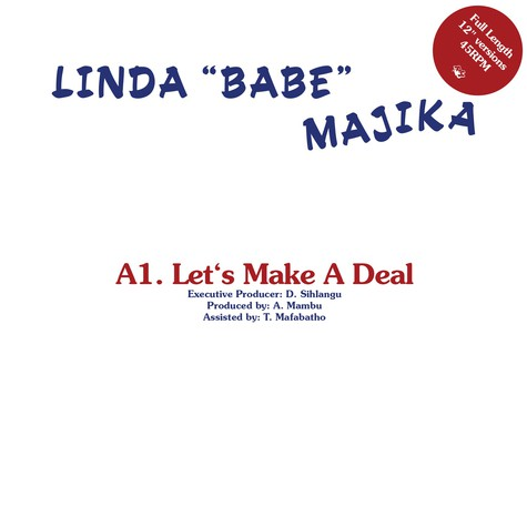 Linda Majika / Thoughts Visions & Dreams - Let's Make A Deal / Step Out Of My Life Feat. Ray Phiri