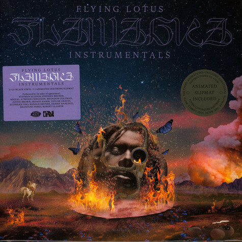 Flying Lotus - Flamagra Instrumentals Limited Edition