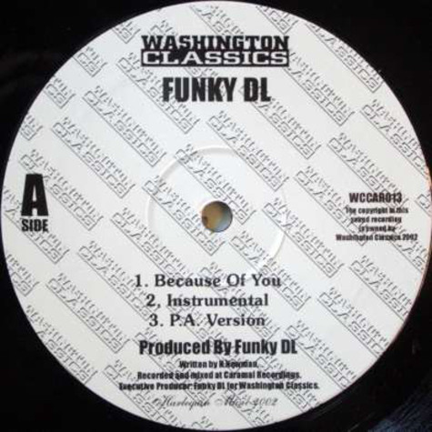 Funky DL - Because Of You / Wonderful