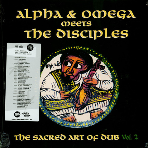 Alpha & Omega Meets The Disciples - The Sacred Art Of Dub Volume 2 Record Store Day 2020 Edition