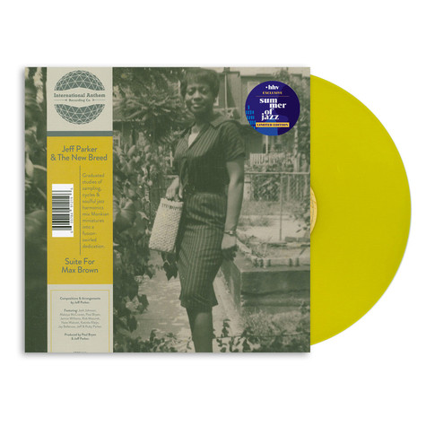 Jeff Parker - Suite For Max Brown HHV Exclusive Yellow Vinyl Edition