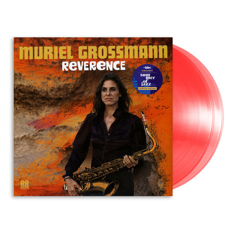 Muriel Grossmann - Reverence HHV Exclusive Transparent Red Vinyl Edition