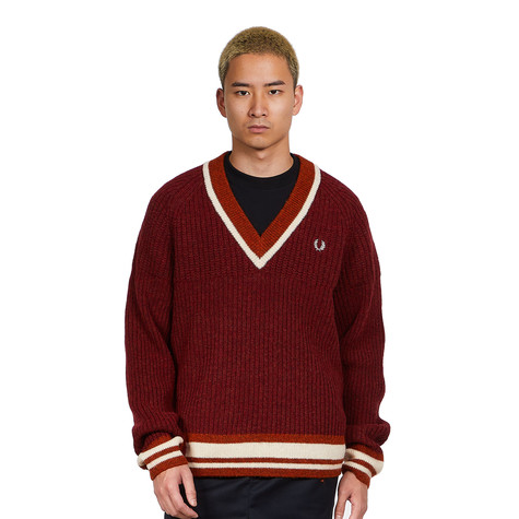Fred Perry x Nicholas Daley - Texture Mix V-Neck Jumper