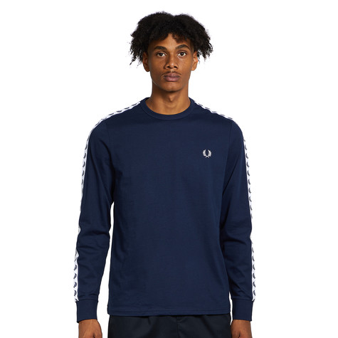 Fred Perry - Taped Long Sleeve T-Shirt