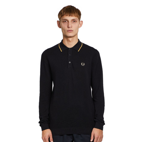 Fred Perry - Tipped LS Knitted Shirt