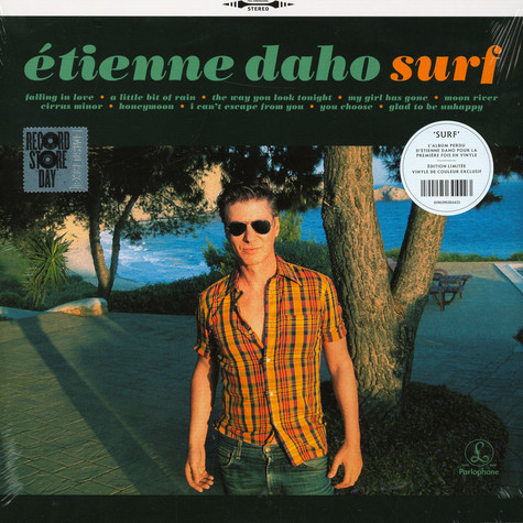 Étienne Daho - Surf Orange Record Store Day 2020 Edition