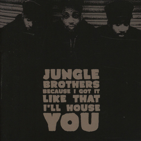 Jungle Brothers - Because I Got It Like That Record Store Day 2020 Edition
