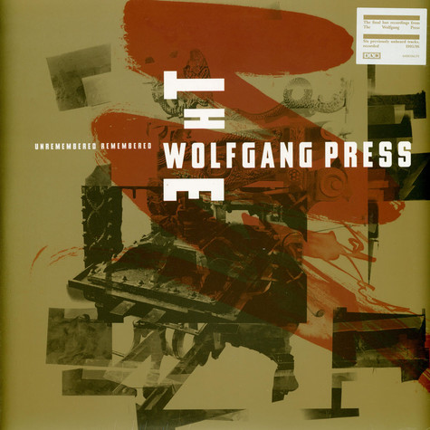 Wolfgang Press, The - Unremembered, Remembered Record Store Day 2020 Edition