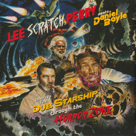 Lee Perry - Lee Scratch Perry Meets Daniel Boyle To Drive The Dub Starship Through The Horror Zone Clear Record Store Day 2020 Edition