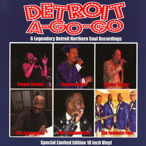 V.A. - Detroit A-Go-Go: 6 Legendary Detroit Northern Soul Recordings Record Store Day 2020 Edition