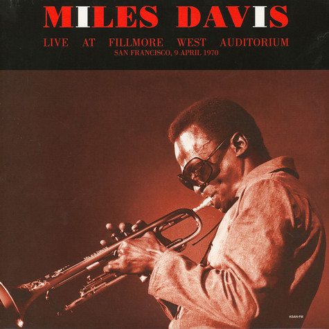 Miles Davis - Live At Fillmore West 1970