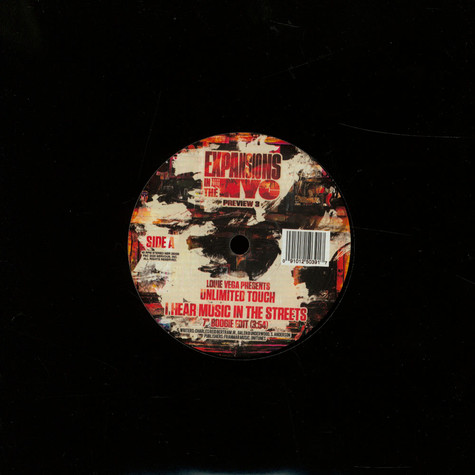 Louie Vega - Presents Unlimited Touch: I Hear Music In The Streets
