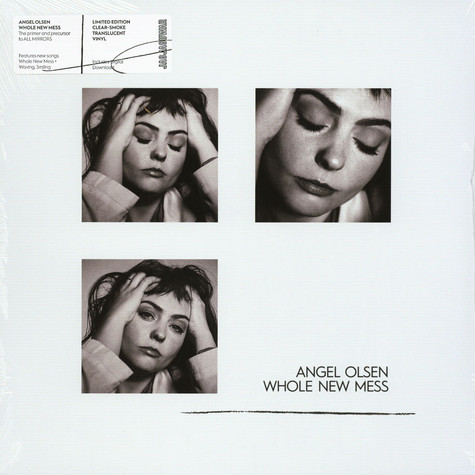 Angel Olsen - Whole New Mess Clear Smoke Vinyl Edition