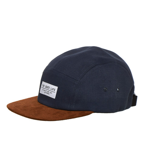 The Quiet Life - Cord Combo 5 Panel Camper Hat