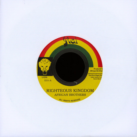 African Brothers - Righteous Kingdom