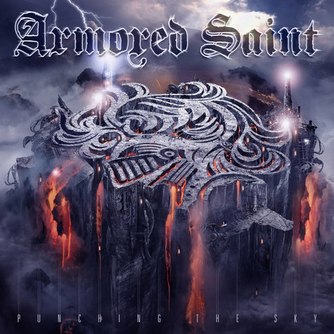 Armored Saint - Punching The Sky Clear Purple White Marbled Edition