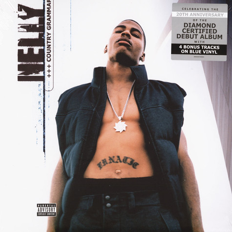 Nelly - Country Grammar Blue Vinyl Deluxe Edition