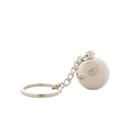 Stüssy - Metal 8 Ball Keychain