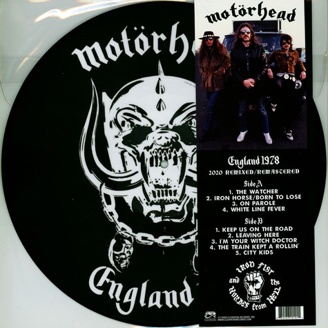 Motörhead - England 1978 - Picture Disc Edition