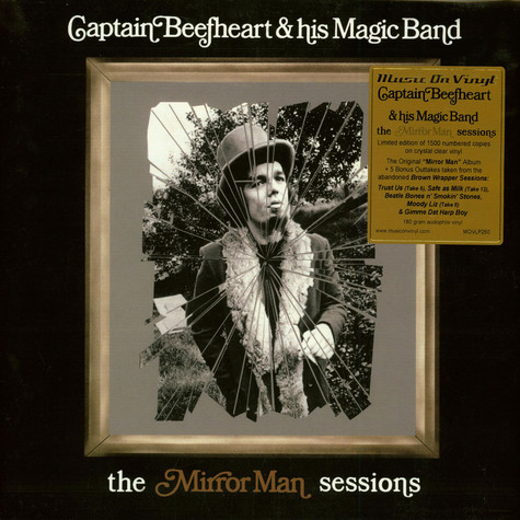 Captain Beefheart - Mirror Man Sessions Crystal Clear Vinyl Edition