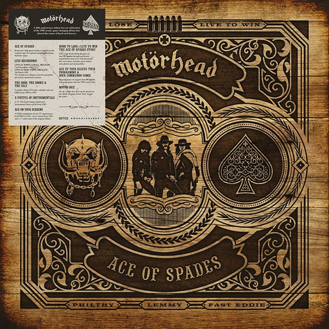 Motörhead - Ace Of Spades Deluxe Edition
