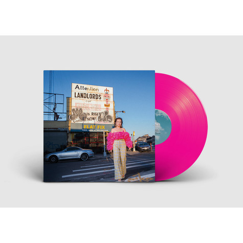 Fielded - Demisexual Lovelace Hot Pink Vinyl Edition