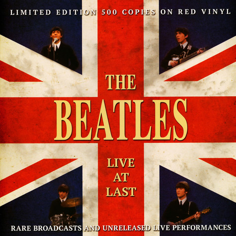 Beatles, The - Live At Last Colored Vinyl Edition