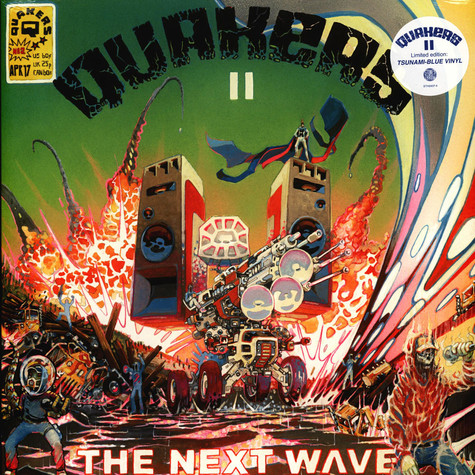 Quakers (Geoff Barrow of Portishead & Katalyst) - II - The New Wave Colored Vinyl Edition