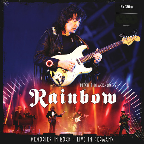 Ritchie Blackmore's Rainbow - Memories In Rock: Live In Germany Colored Vinyl Edition