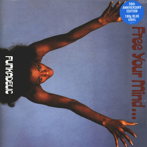 Funkadelic - Free Your Mind And Your Ass Will Follow Blue Vinyl Edition