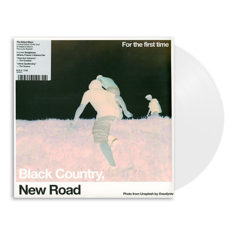 Black Country, New Road - For The First Time Light White Vinyl Edition