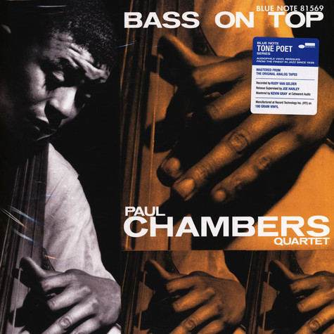 Paul Chambers - Bass On Top Tone Poet Vinyl Edition