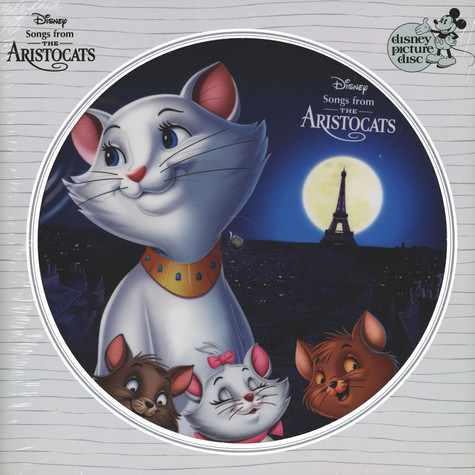 V.A. - OST Songs From The Aristocats Picture Disc Edition