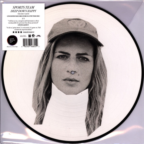 Sports Team - Deep Down Happy Picture Disc 2 Record Store Day 2020 Edition
