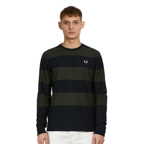 Fred Perry - Bold Stripe Pique T-Shirt