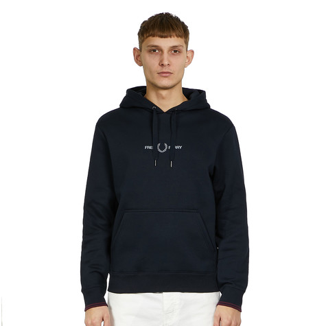 Fred Perry - Graphic Hooded Sweatshirt