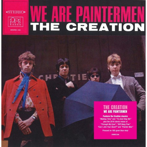 Creation, The - We Are Paintermen Clear Vinyl Edition