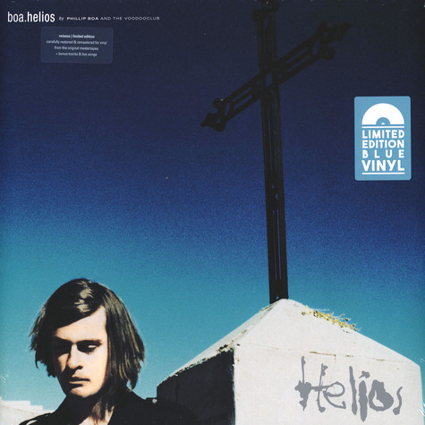 Phillip Boa & The Voodooclub - Helios Remastered Limited Blue Vinyl Edition