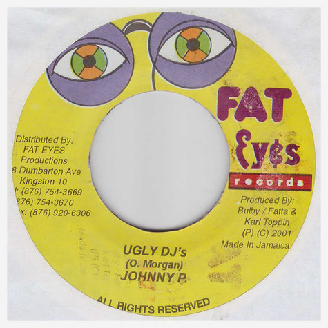 Johnny P - Ugly DJ's