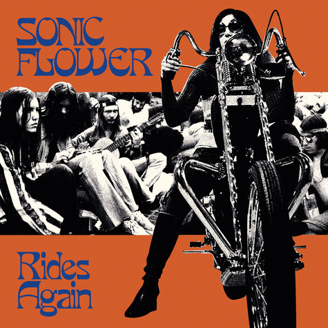 Sonic Flower - Rides Again Orange & Blue Vinyl Edition