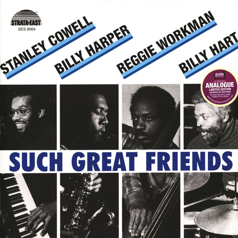 Stanley Cowell & Billy Harper & Others - Such Great Friends