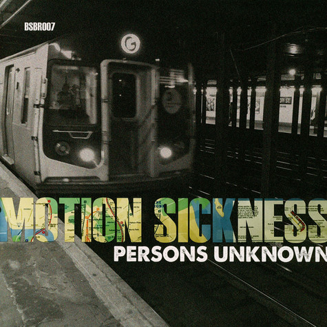 Persons Unknown - Motion Sickness Colored Vinyl Edition