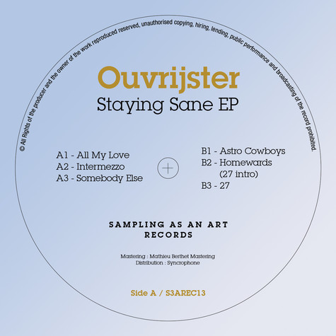 Ouvrijster - Staying Sane EP