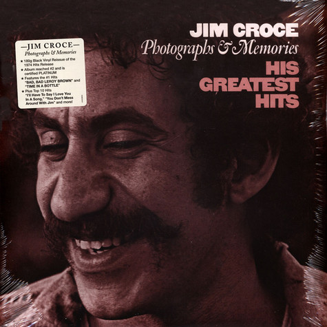 Jim Groce - Photographs & Memories:His Greatest Hits