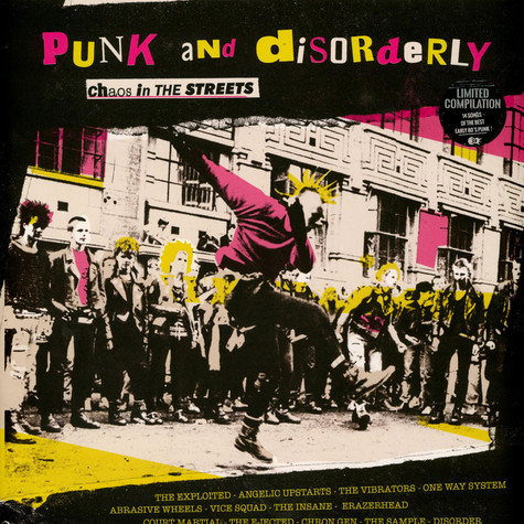 V.A. - Punk And Disorderly - Chaos In The Streets