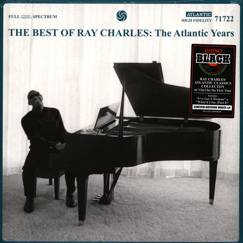 Ray Charles - The Best Of Ray Charles: The Atlantic Years Blue Vinyl Edition