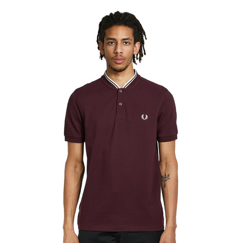 Fred Perry - Bomber Collar Pique Shirt